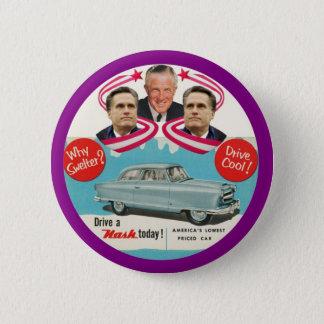 Mitt & George Romney 2 Inch Round Button