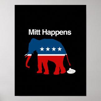 MITT HAPPENS - png Posters