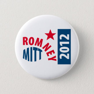 Mitt Romney 2012 2 Inch Round Button