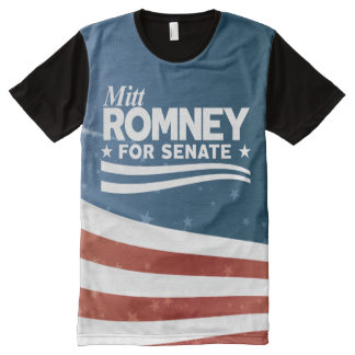 Mitt Romney 2018 All-Over-Print T-Shirt