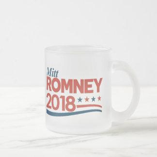 Mitt Romney 2018 Frosted Glass Coffee Mug
