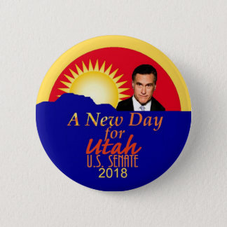 Mitt ROMNEY 2018 Senate Button