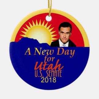 Mitt ROMNEY 2018 Senate Ornament