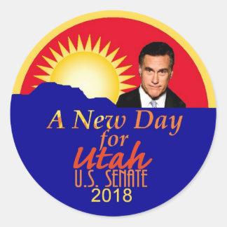 Mitt ROMNEY 2018 Senate Sticker