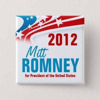 Mitt Romney 2 Inch Square Button