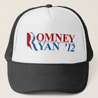 Mitt Romney and Paul Ryan 2012 Trucker Hat