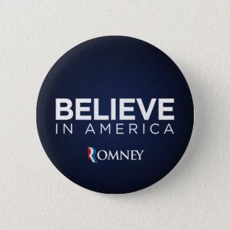 Mitt Romney Believe In America Button