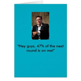 Mitt Romney Birthday Card