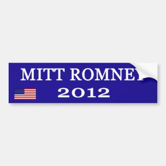 Mitt Romney bumper stickers