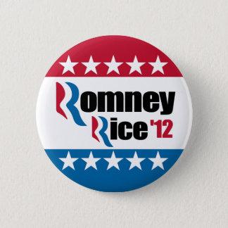Mitt Romney Condi Rice 2012 2 Inch Round Button