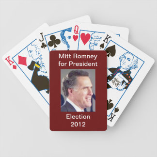 Mitt Romney Election 2012 Playing Cards