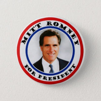 Mitt Romney for presiden button