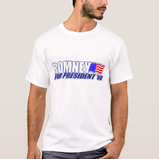 Mitt Romney for President 2008 T-shirt