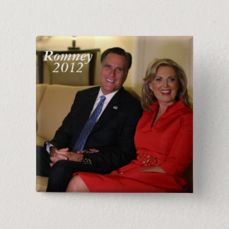 Mitt Romney for president! 2 Inch Square Button