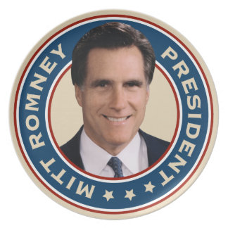 Mitt Romney for President Commemorative Plate