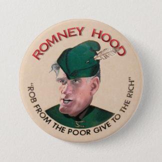 Mitt Romney Hood 2012 3 Inch Round Button