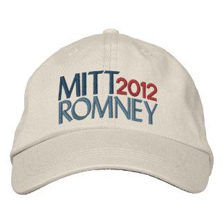 Mitt Romney in 2012 Embroidered Hat