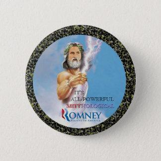 Mitt Romney Mythology 2 Inch Round Button