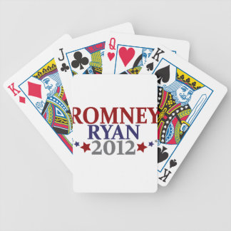 Mitt Romney Paul Ryan 2012 Poker Deck