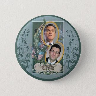 Mitt Romney & Paul Ryan 2 Inch Round Button