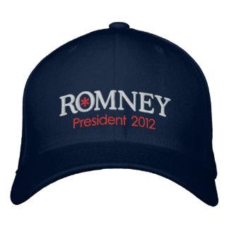 Mitt Romney President 2012 Embroidered Hat