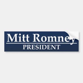 Mitt Romney President Bumper Sticker