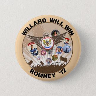 Mitt Romney will win in 2012 2 Inch Round Button