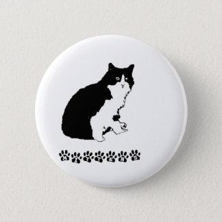 Mitten Kitten 2 Inch Round Button