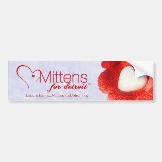 Mittens for Detroit Bumper Sticker