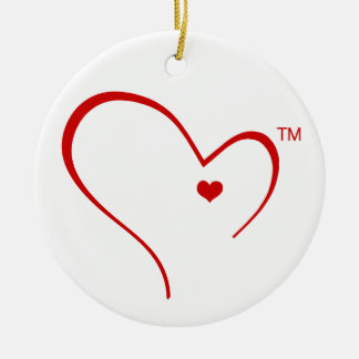 Mittens for Detroit Heart Logo Circle Ornament