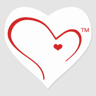 Mittens for Detroit Heart Logo Sticker