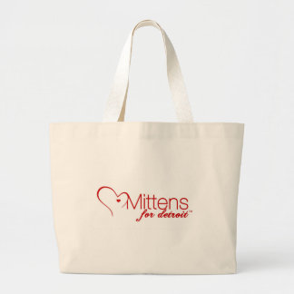 Mittens for Detroit Jumbo Tote