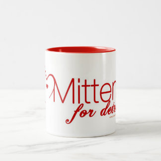 Mittens for Detroit Logo Coffee Mug