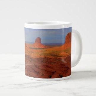 Mittens, Monument valley, AZ Large Coffee Mug