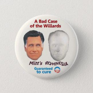 Mitt's Romnesia 2 Inch Round Button