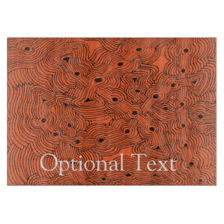 Mix and Match Color Ant Hill Abstract Cutting Board