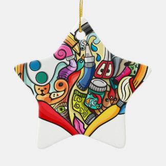 Mix Ceramic Ornament