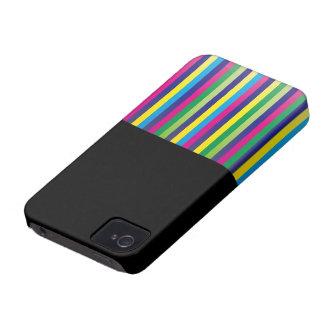 MIX color STRIPE: 002 iPhone 4 Cases