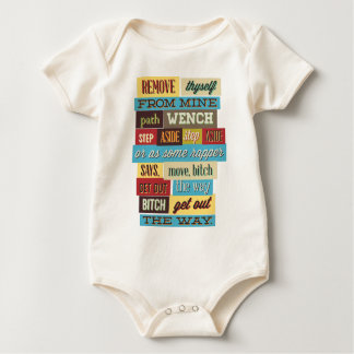 mix cute cool designs baby bodysuit