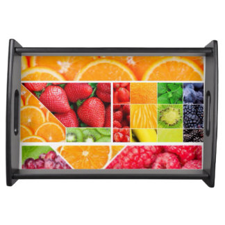 Mix FRuit Collage Serving Tray