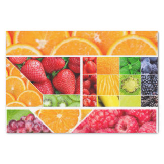 Mix FRuit Collage Tissue Paper
