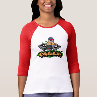 Mix Master Lucky Baseball Graphic Tee