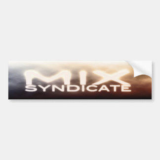 Mix Syndicate Bumper Sticker