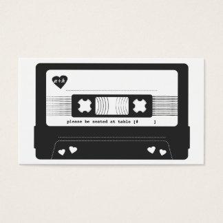 Mix Tape Escort Card