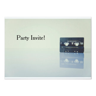 Mix tape invite
