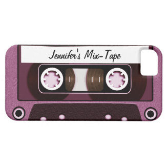 Mix Tape Personalized Pink iPhone 5 Cover