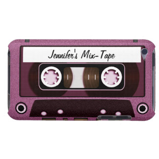 Mix Tape Personalized Pink iPod Case-Mate Case