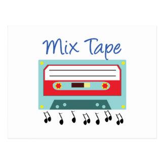 Mix Tape Postcard