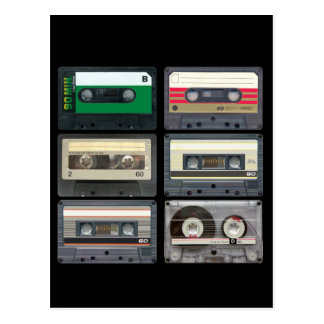 Mix Tapes Postcard