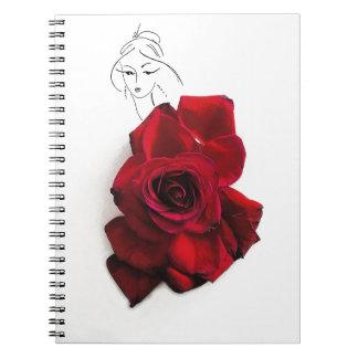 Mixed art paper notebook